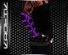 {k} Purple Arm Warmers