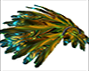 shoulder feather wings