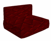 Red sofa relaxe