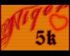 5K // Sticker Payment