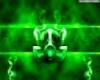 TOXIC GREEN HEADPHONES