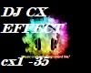 DJ CX EFFECT vb (M/F)