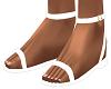 White Riyna Sandals