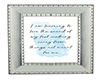 *C* Silver Framed Quote