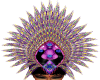Purple Headdress