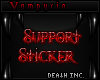 40k Support Sticker