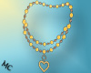 (MC) Yellow Necklace