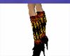Sexy Flame Stiletto Boot