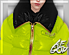 Ⱥ™ Neon Bubble Coat