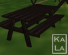 !A Kids Picnic Table