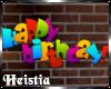 [H] Happy Birthday Sign
