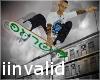 LRG skateboard 35 poses