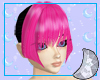 Apple Pink Kamil Bangs