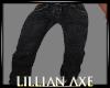 [la] Plain Black jeans