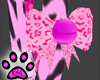 KK~ Pink Tiger Bow