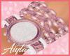 Pink Watch/w bracelets