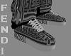 grey fendi kicks