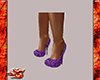 Purple Steletto silv acc