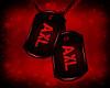 MZ AXL Red PVC Tags