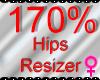 *M* Hips Resizer 170%