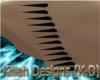 (K.D) black spikes