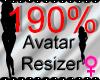 *M* Avatar Scaler 190%