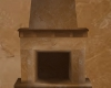 TuscanStucco Fireplace