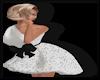 Sparklet Dress WhiteBlk