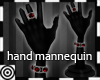 *m Hand Mannequin Black