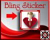 (N) Bling Heart #24