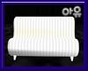 "White ""no pose"" sofa"