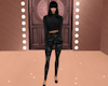 Black Gray Camo Outfit