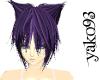 AKIKO Neko *purple*