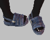 slippers Denim