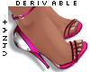 V4NY|Mirror Sandal DERIV