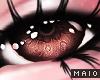 🅜 GINGER: brown eyes