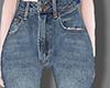 Lrregular flared trouser