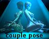 couple pose - meditation