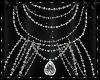Diamond Beaded Necklace