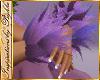 I~Lilac Wrist Fur Cuffs
