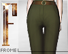 F - Trousers Olive