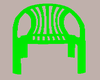 (L) Plastic Geen Chair