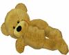 Gold Cuddle Teddy Bear