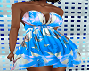 FG~ Blue Tropical Dress