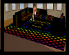 rainbow couch set