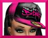 !S!BGIRL $ CAP PINKBLK