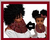 Kids mom fall ruby scarf