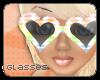 T-Heart Glasses Rainbow