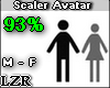 Scaler Avatar M - F 93%