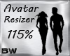 Avi Scaler Resizer 115%